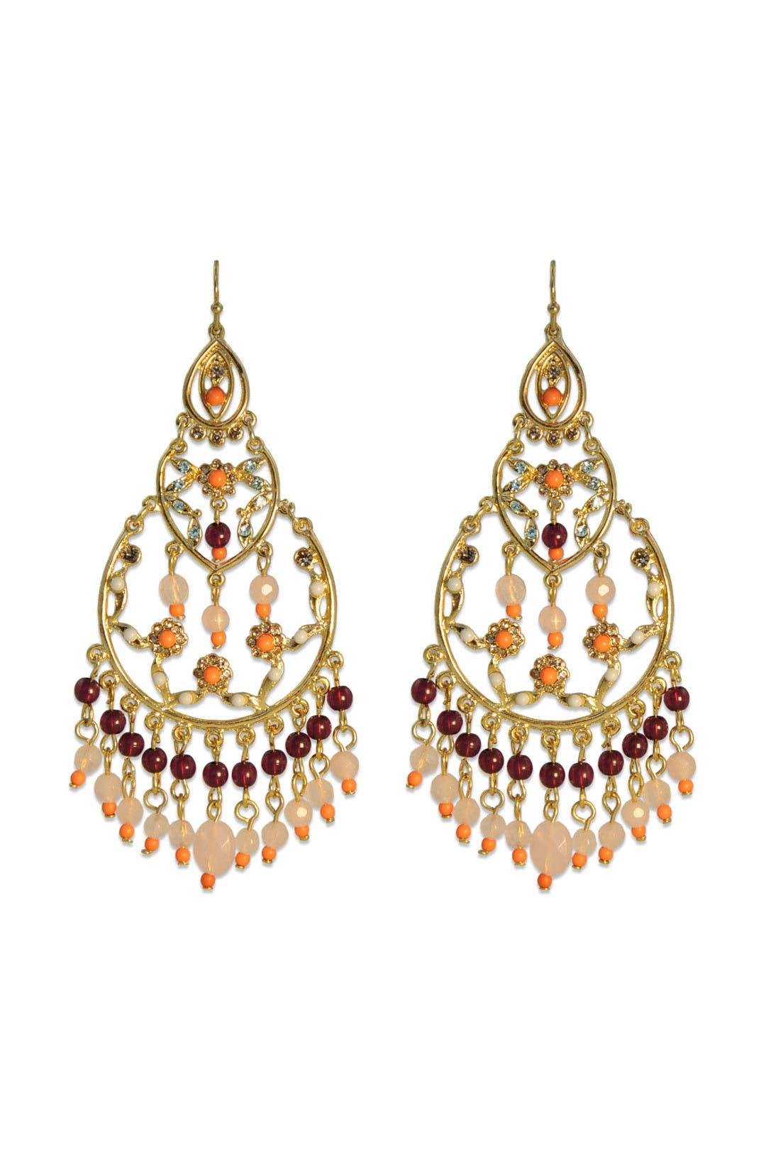 Nights In Bombay Earrings by Lee Angel