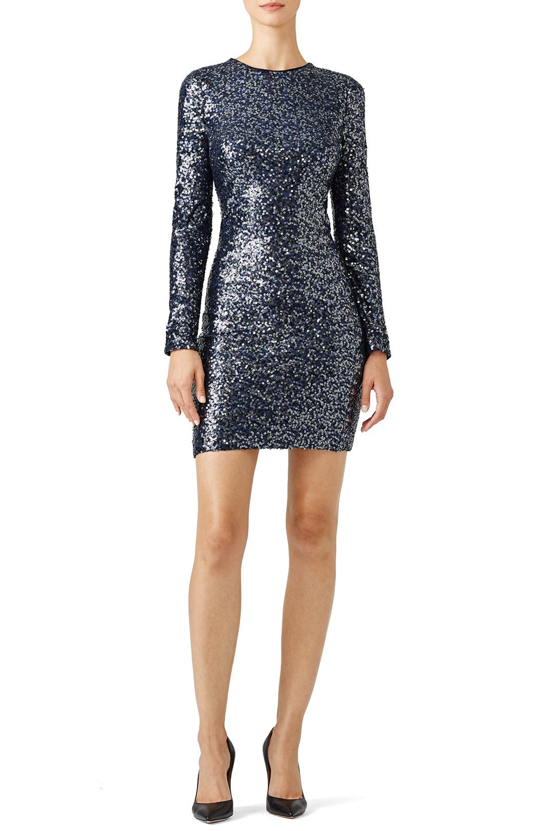 sequin disco dress by badgley mischka for 75 90 rent the runway. Black Bedroom Furniture Sets. Home Design Ideas