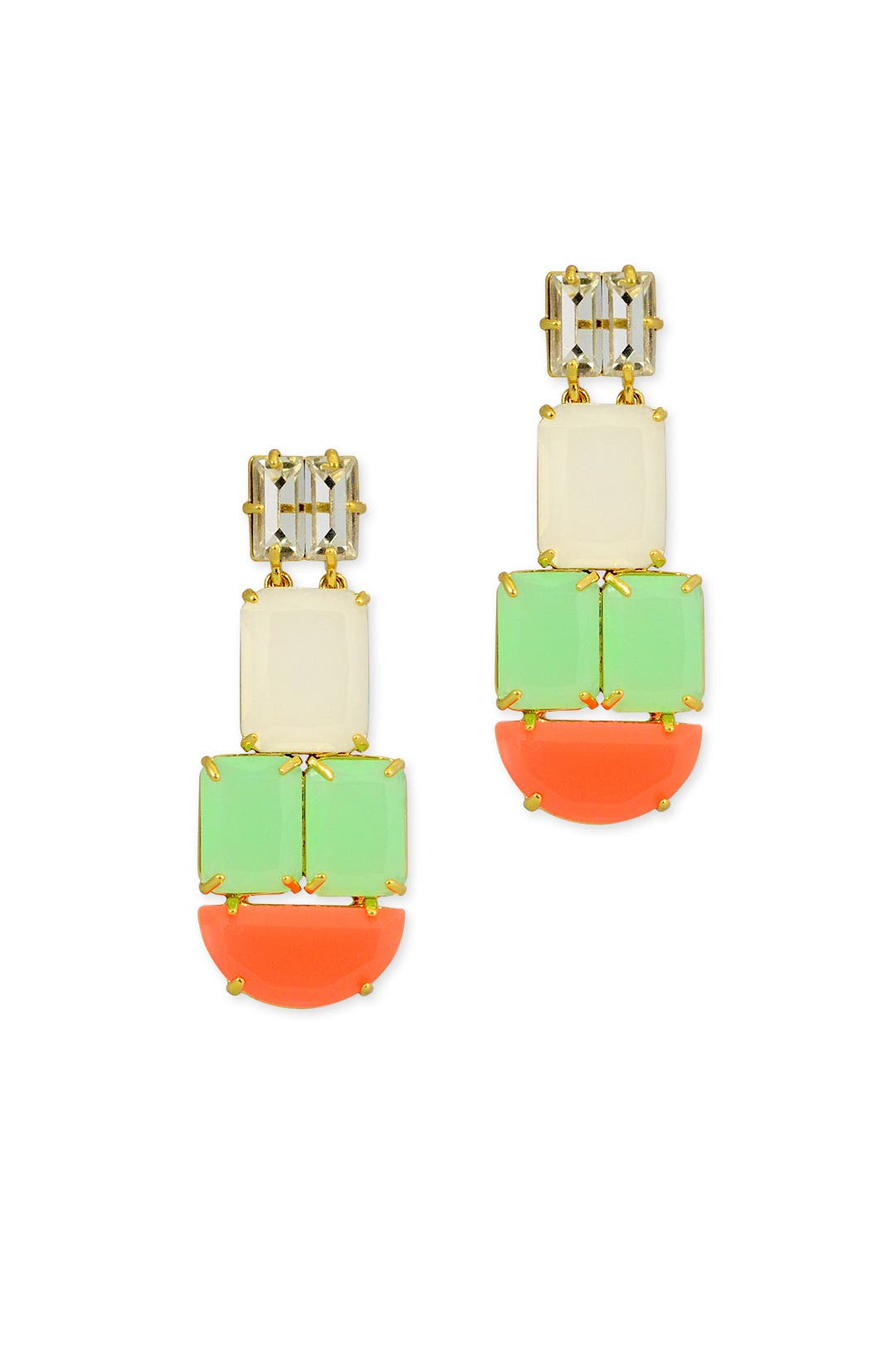 Neon Montage Earrings by kate spade new york accessories