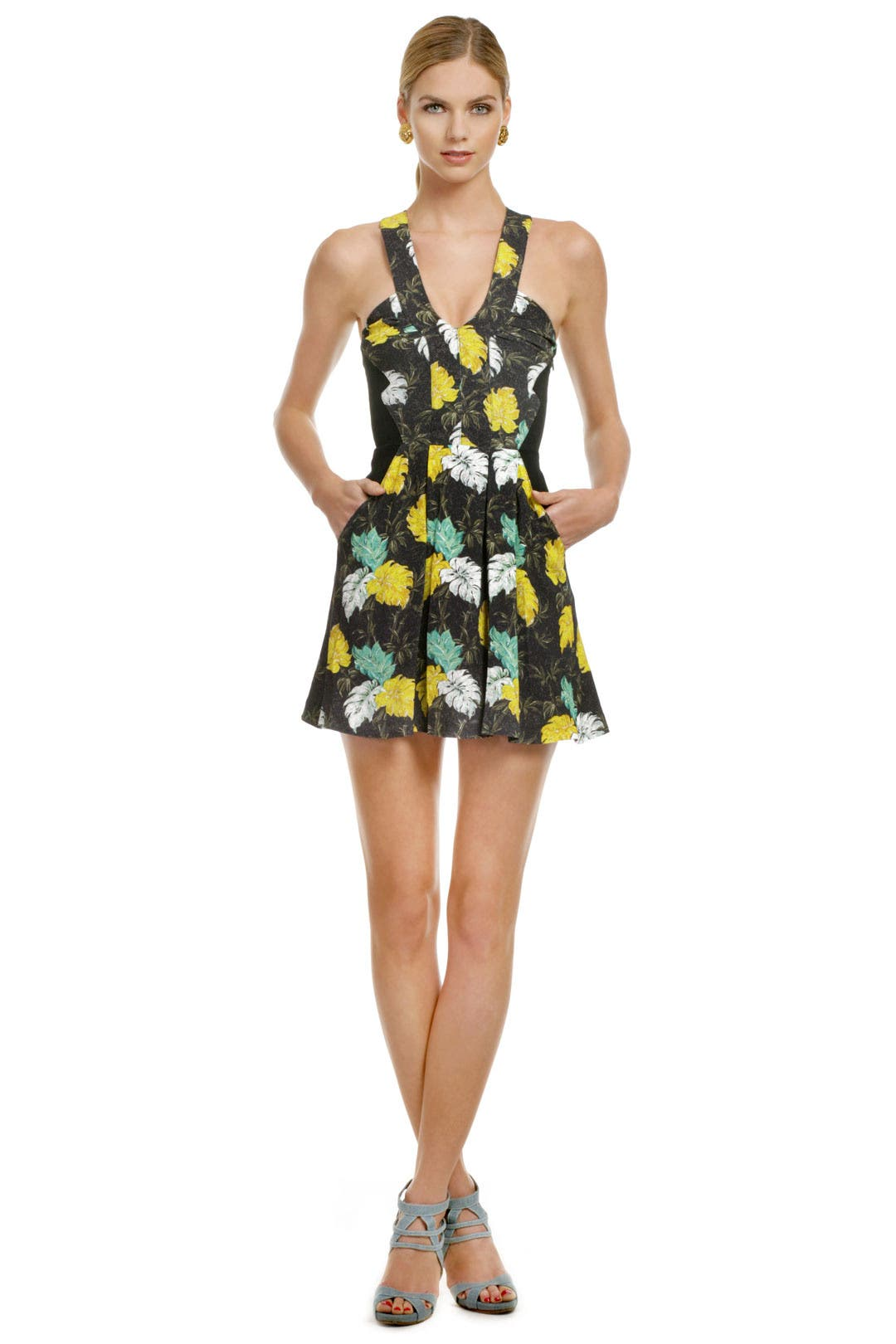 Urban Pop Floral Dress by Proenza Schouler
