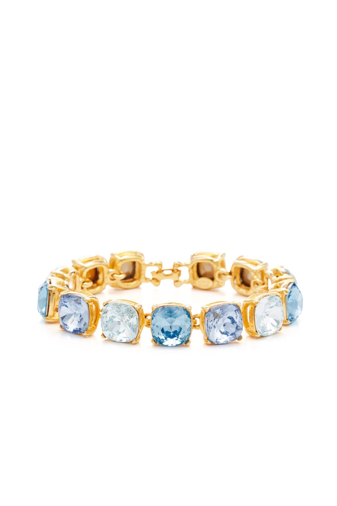 Shades of Blue Crystal Bracelet by Kenneth Jay Lane