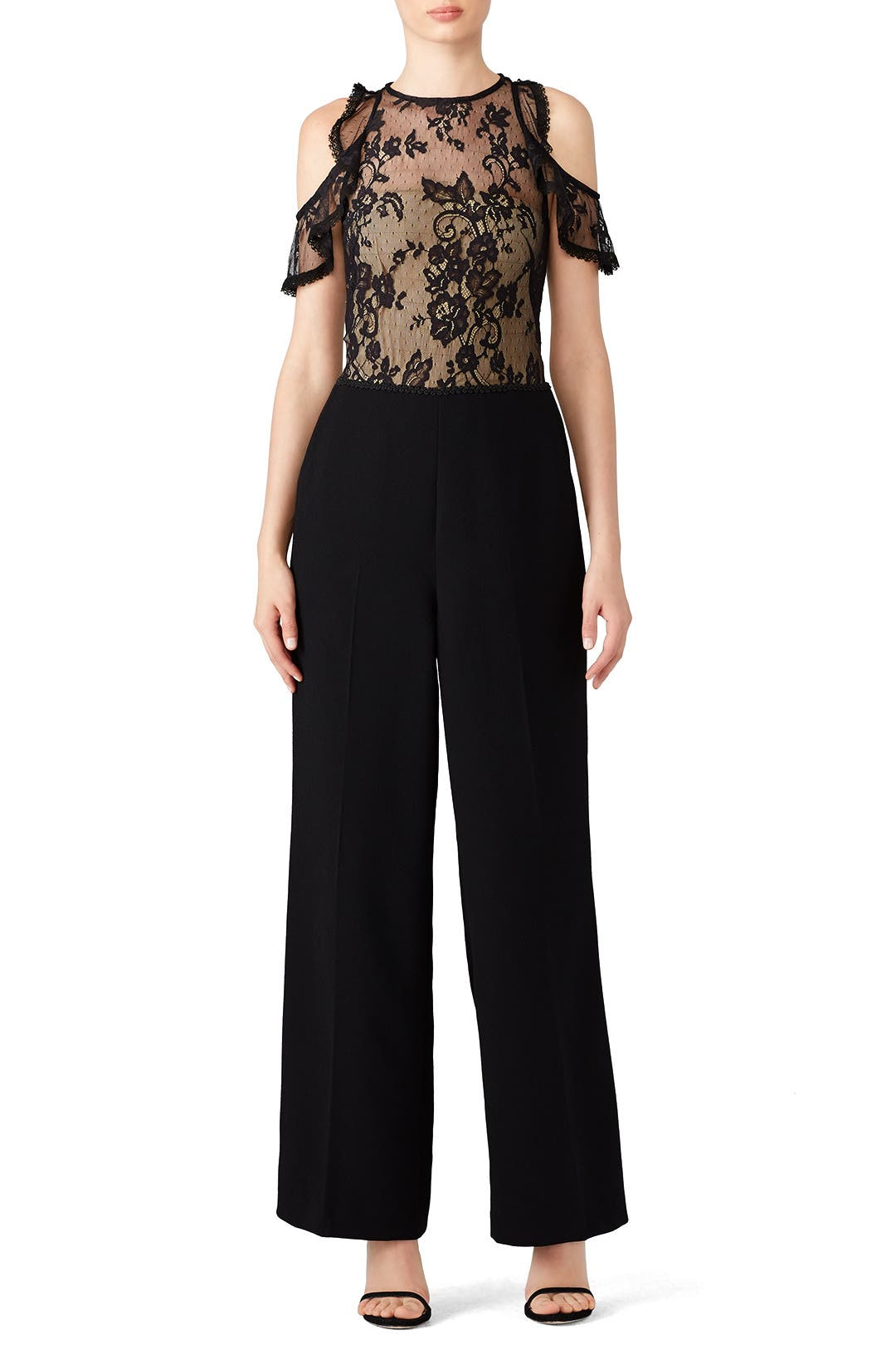 Black Lace Jumpsuit by Slate   Willow for  39  fc0a51637