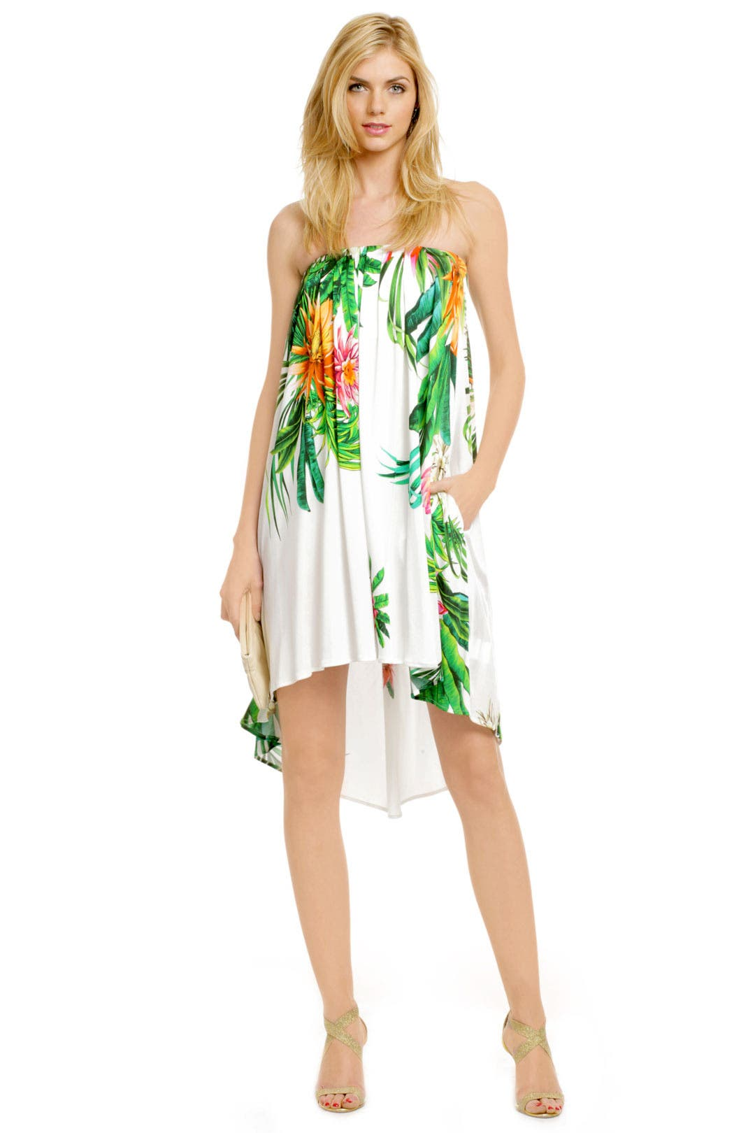 Under the Hawaiian Palms Dress by MSGM