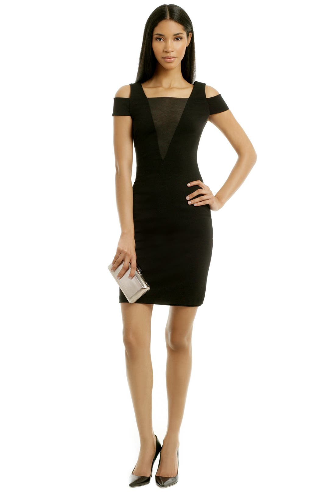 Run For Cover Dress by Halston Heritage
