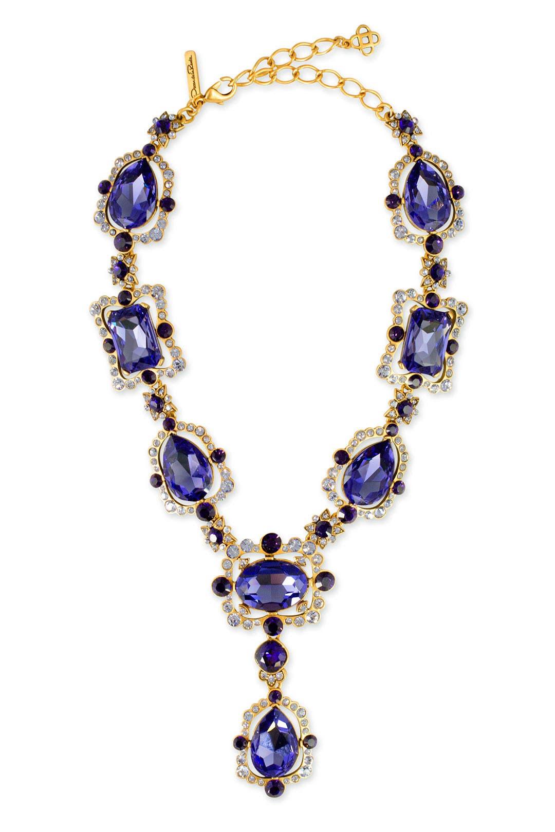 Aragon Amethyst Necklace by Oscar de la Renta