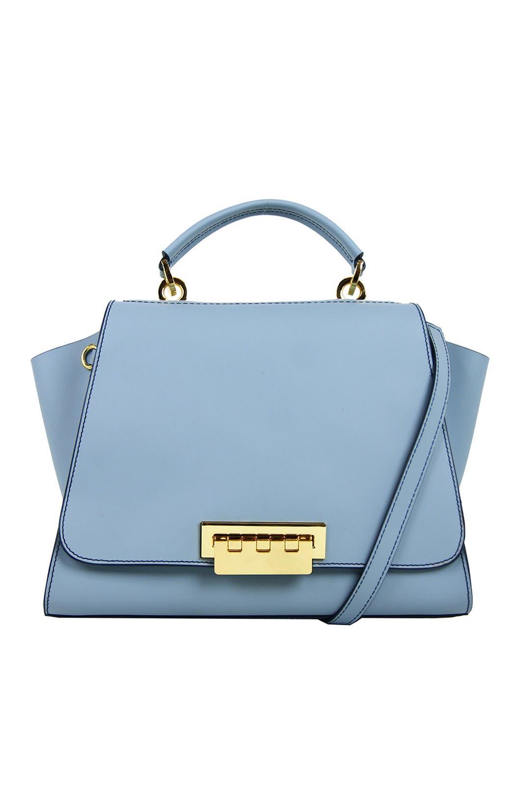 floral design mini bag - Blue Zac Posen SIekaJ
