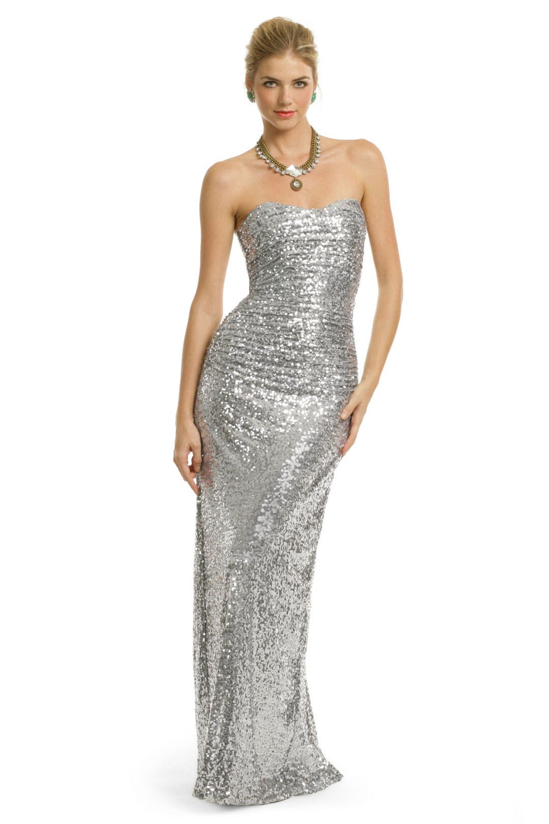 Sequin Stardust Gown by Badgley Mischka
