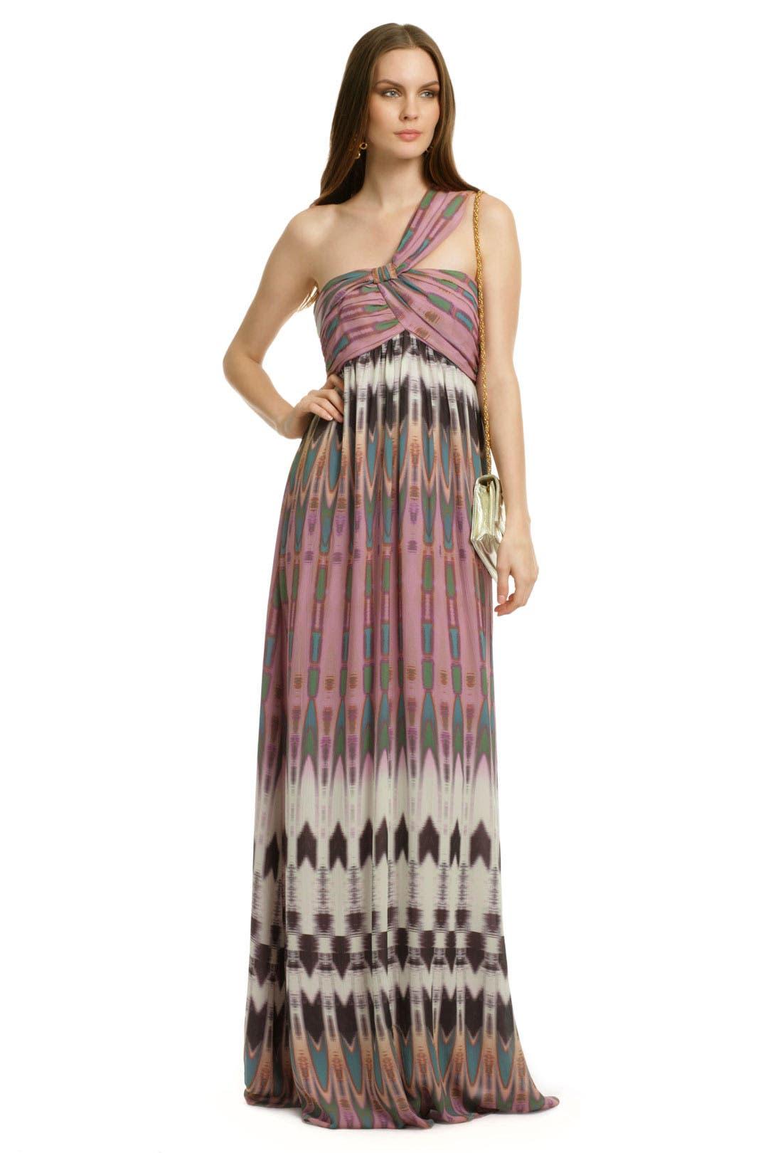 Navajo Silk Maxi by Nicole Miller