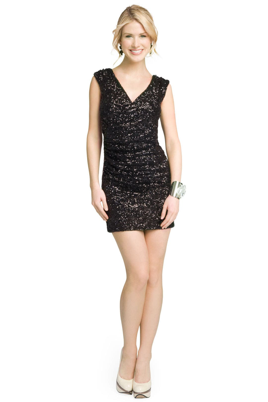 Sensational Sequin Dress by Halston Heritage