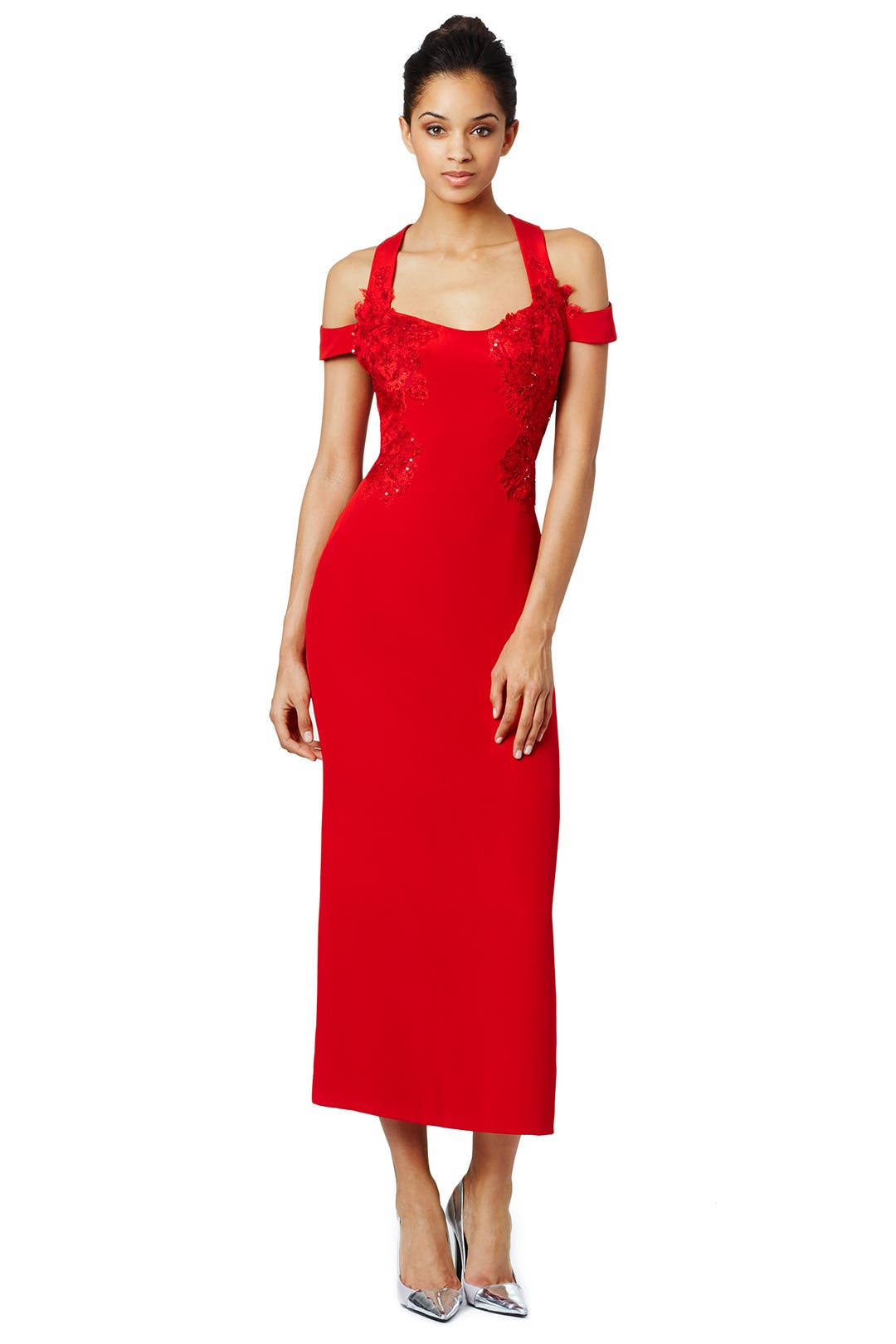 Front Lines Dress by Marchesa Notte for $219 | Rent the Runway