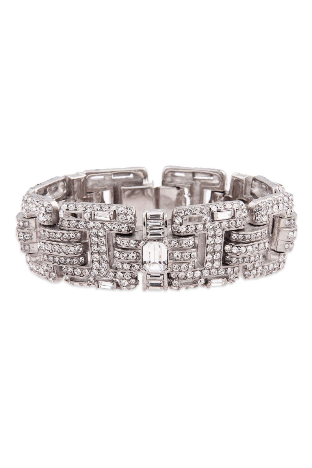 Classic Clear Stone Bracelet by Ciner
