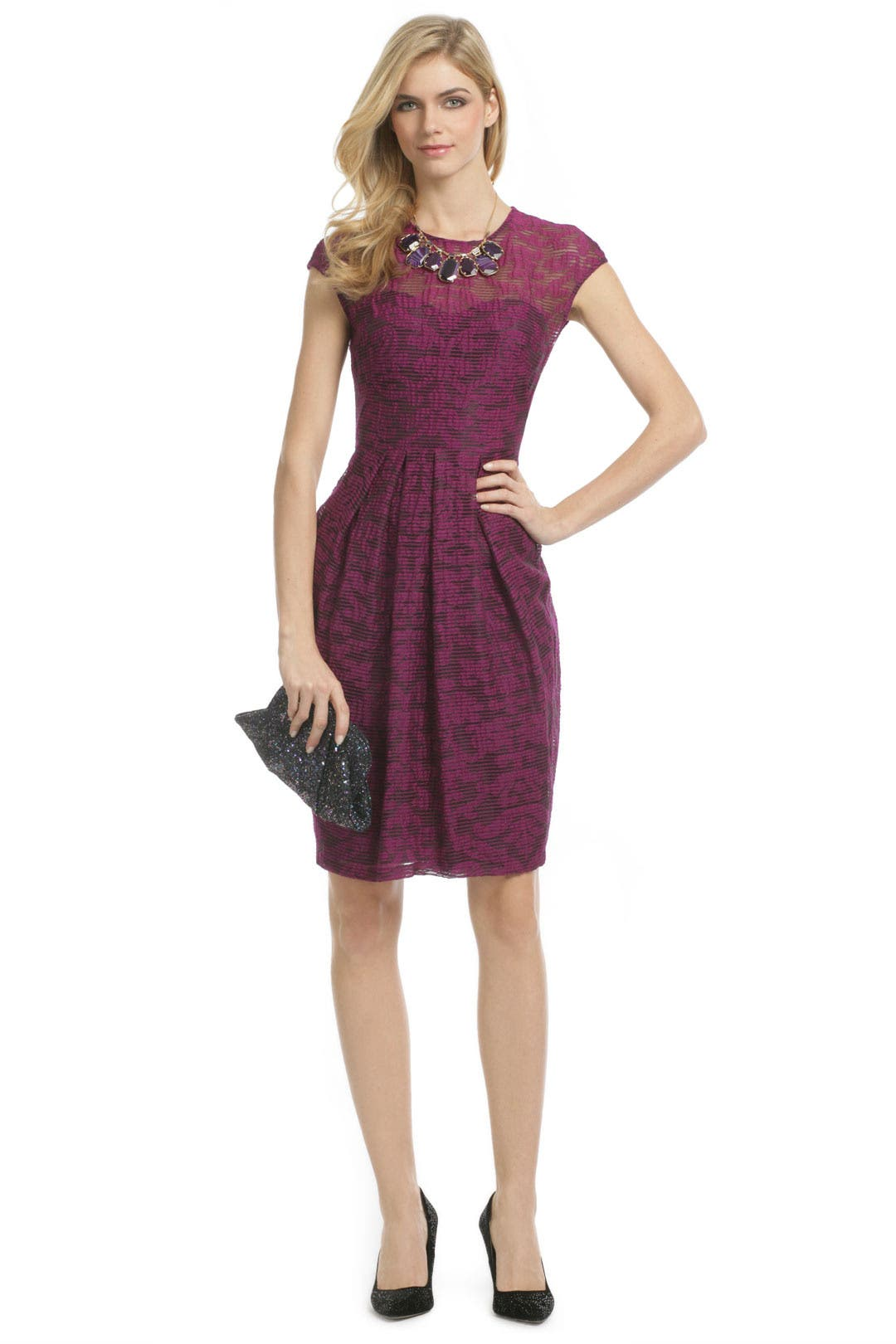 Fleur de Lis Dress by Lela Rose