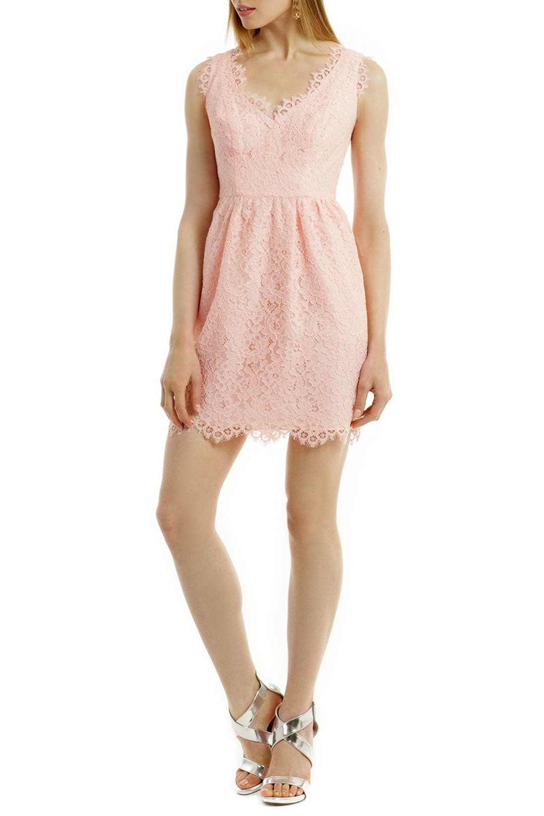 Petal Lace Sierra Dress by Shoshanna