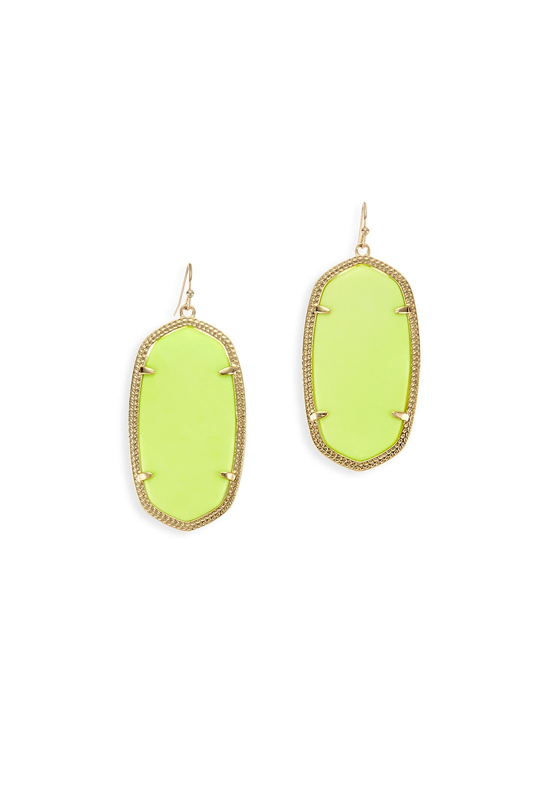 Blazing Yellow Danielle Earrings by Kendra Scott