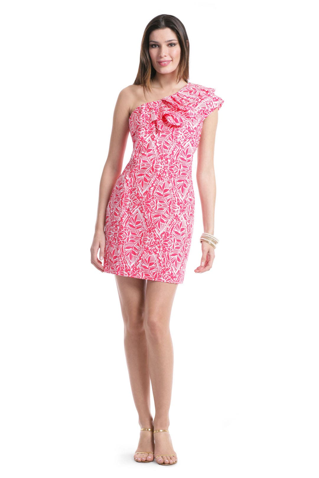 Punchy Pink Dress by Lilly Pulitzer for $47 | Rent the Runway