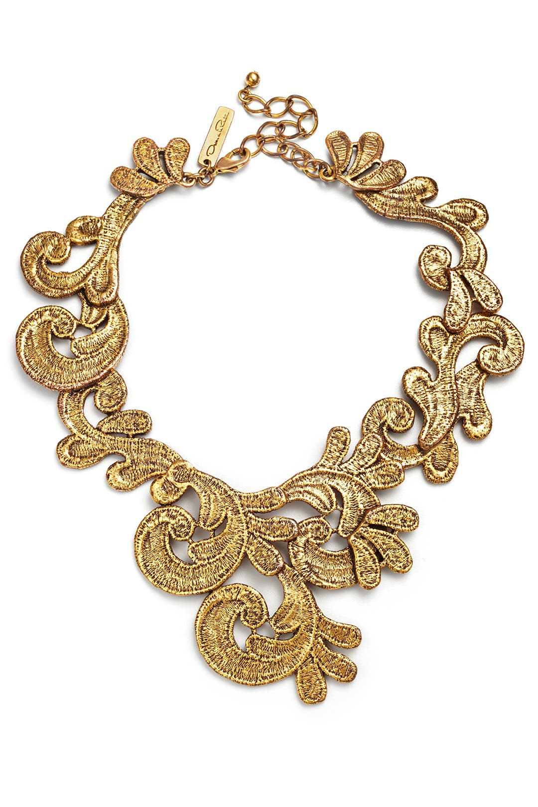 French Quarter Jazz Necklace by Oscar de la Renta