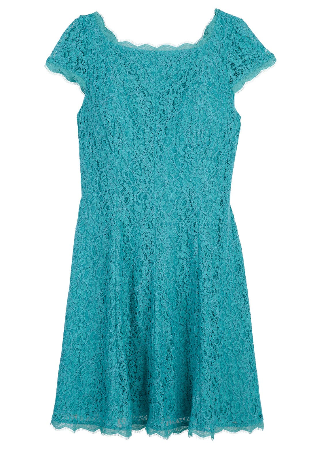 Jade Lace Dress by Adrianna Papell for $40 | Rent the Runway