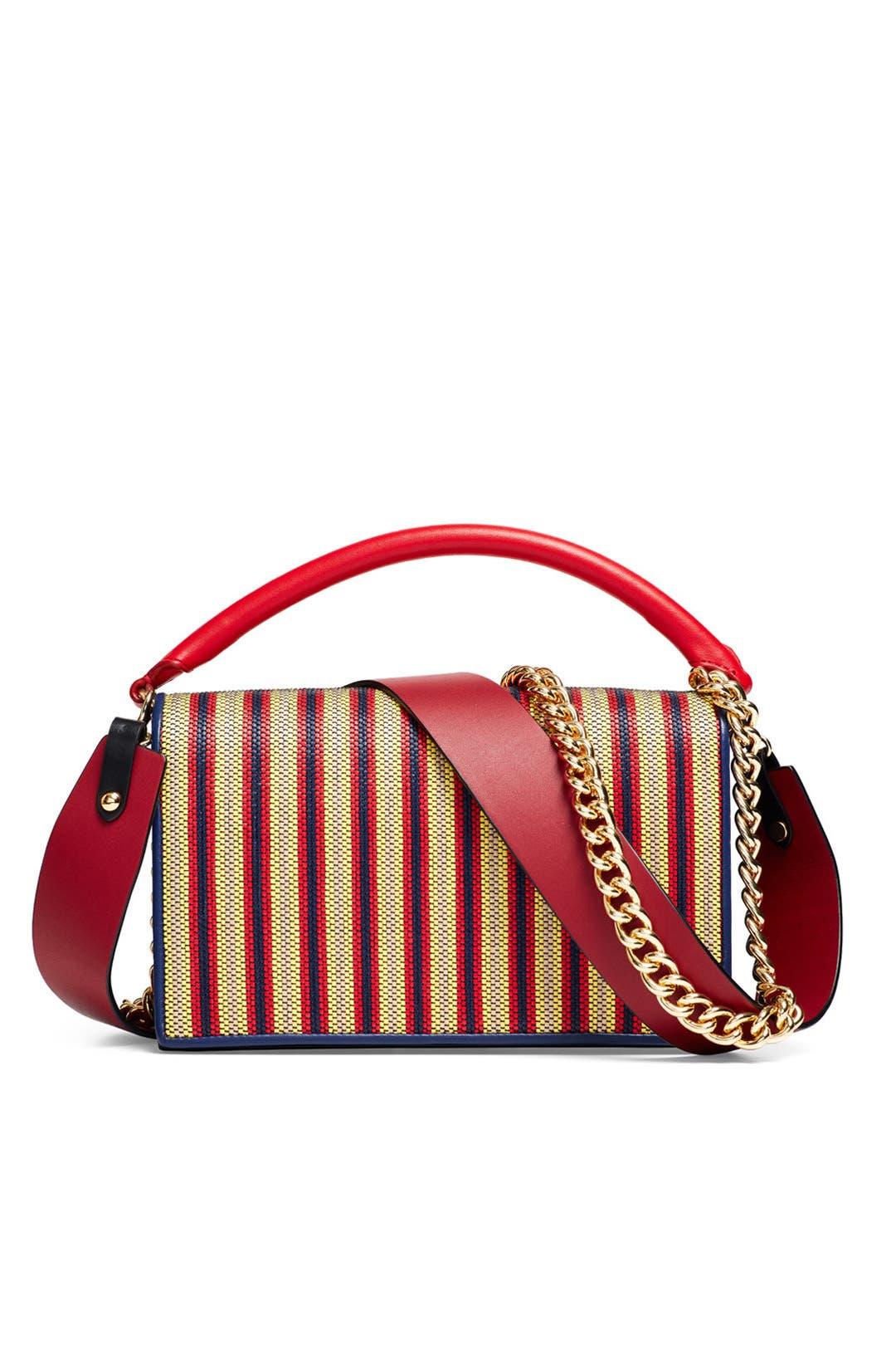 Soiree Raffia Bag By Diane Von