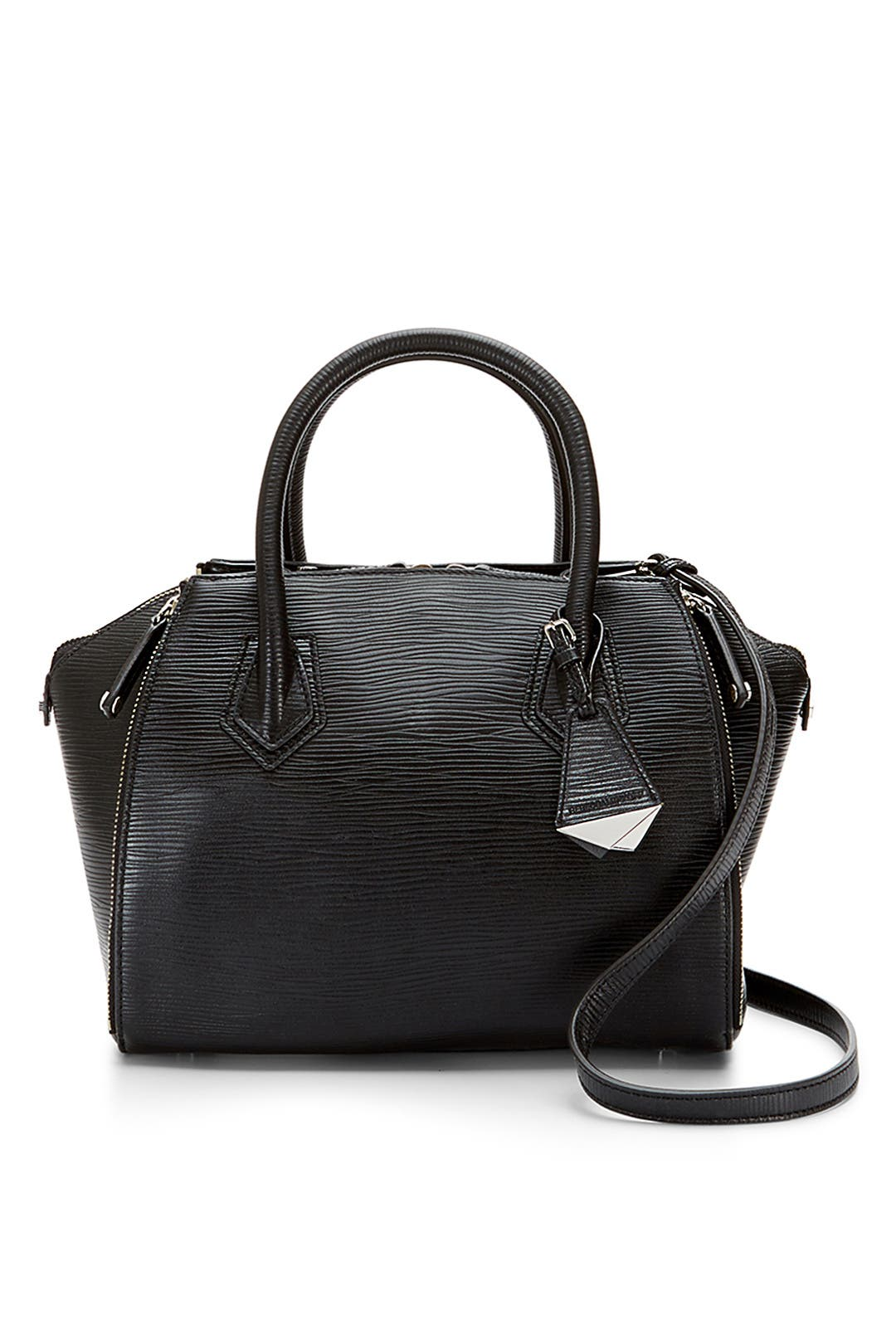 Black Mini Perry Satchel By Rebecca Minkoff Accessories For 178 The Runway