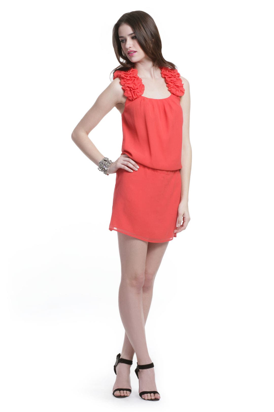 Pomegranate Martini Dress by Thread Social