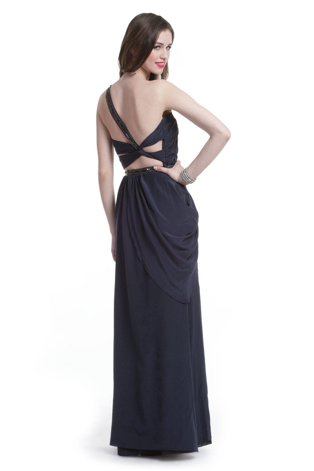 In the Navy Gown by Carlos Miele