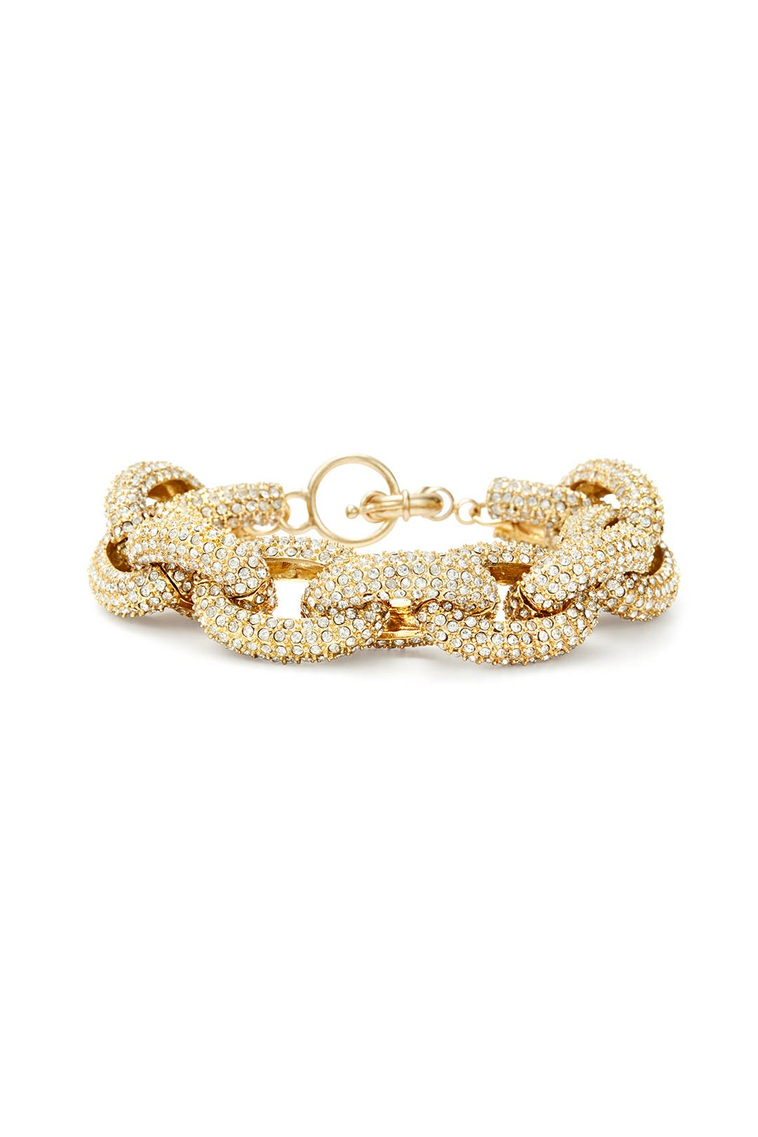 Gold Record Bracelet by Slate & Willow Accessories