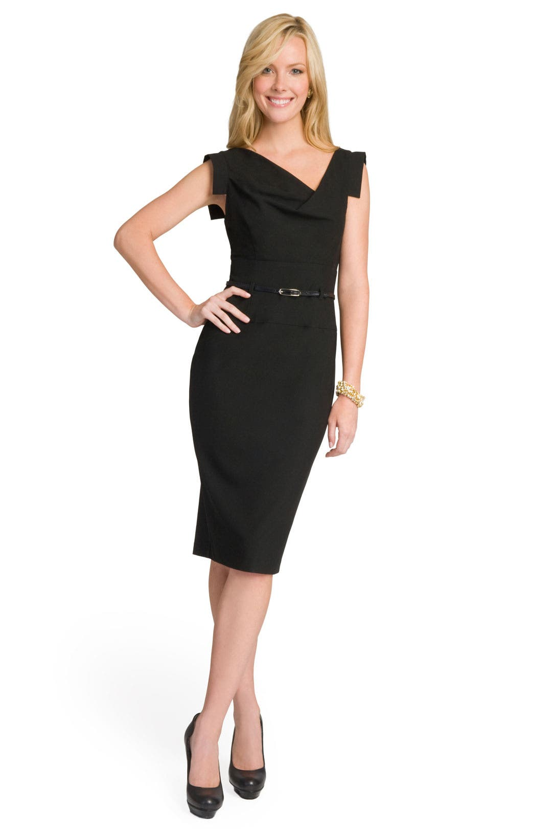 Black Jackie O  Dress by Black Halo