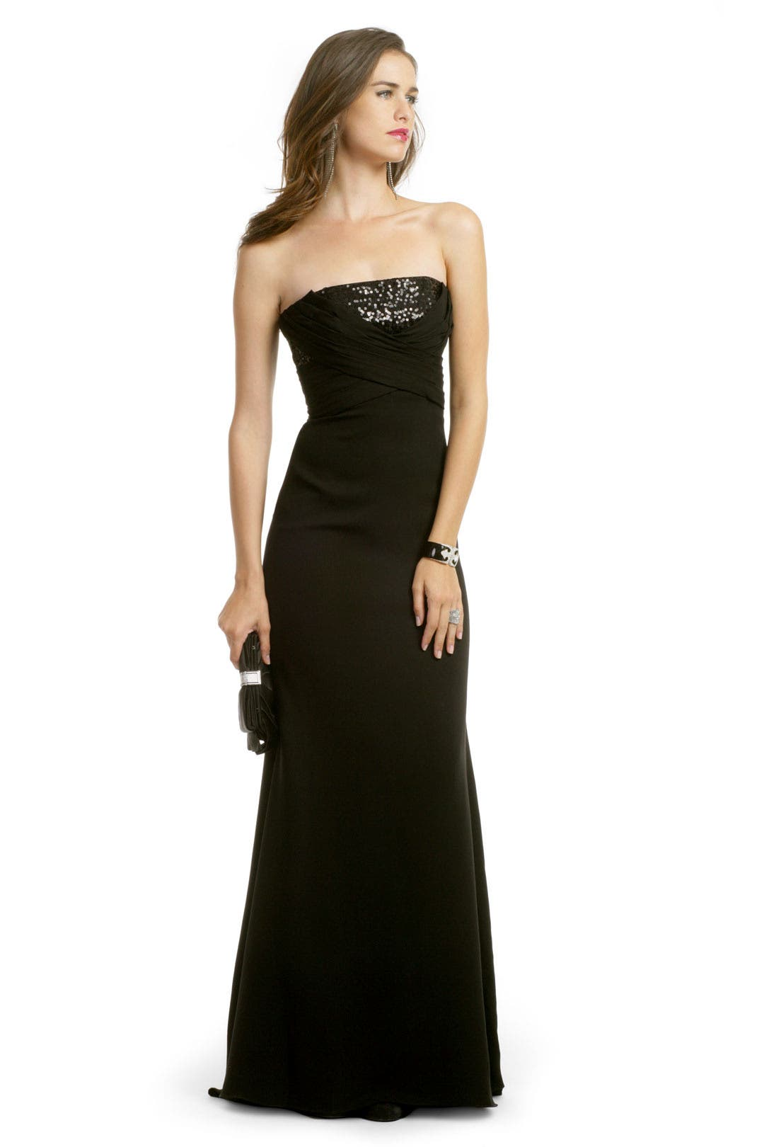 Glam Sequin Stunner Gown by Badgley Mischka