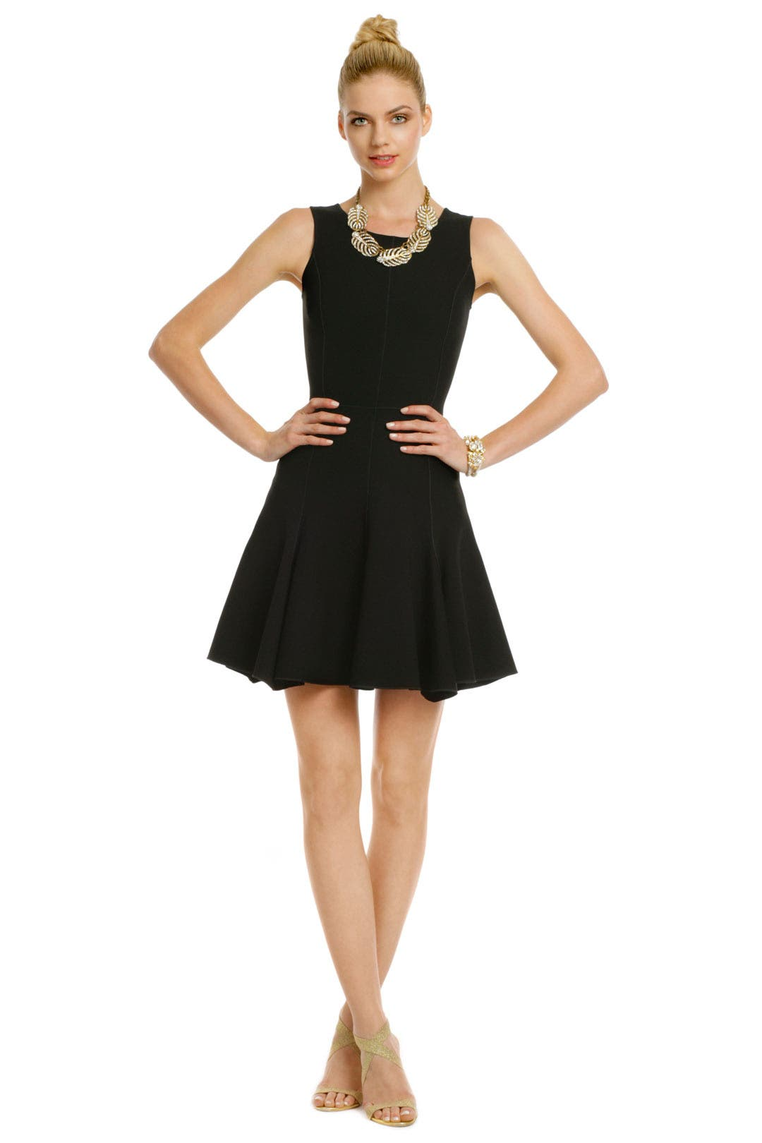 Flip Switch Dress by Halston Heritage