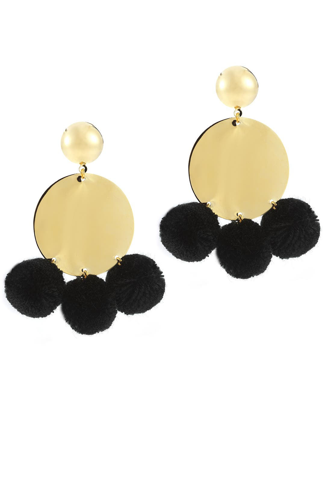 Gold Stevie Earrings By Elizabeth And James Accessories For $20  Rent The  Runway