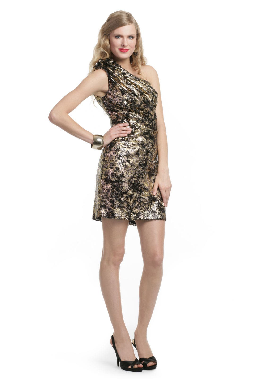 Lights and Leopard Dress by Mark & James by Badgley Mischka