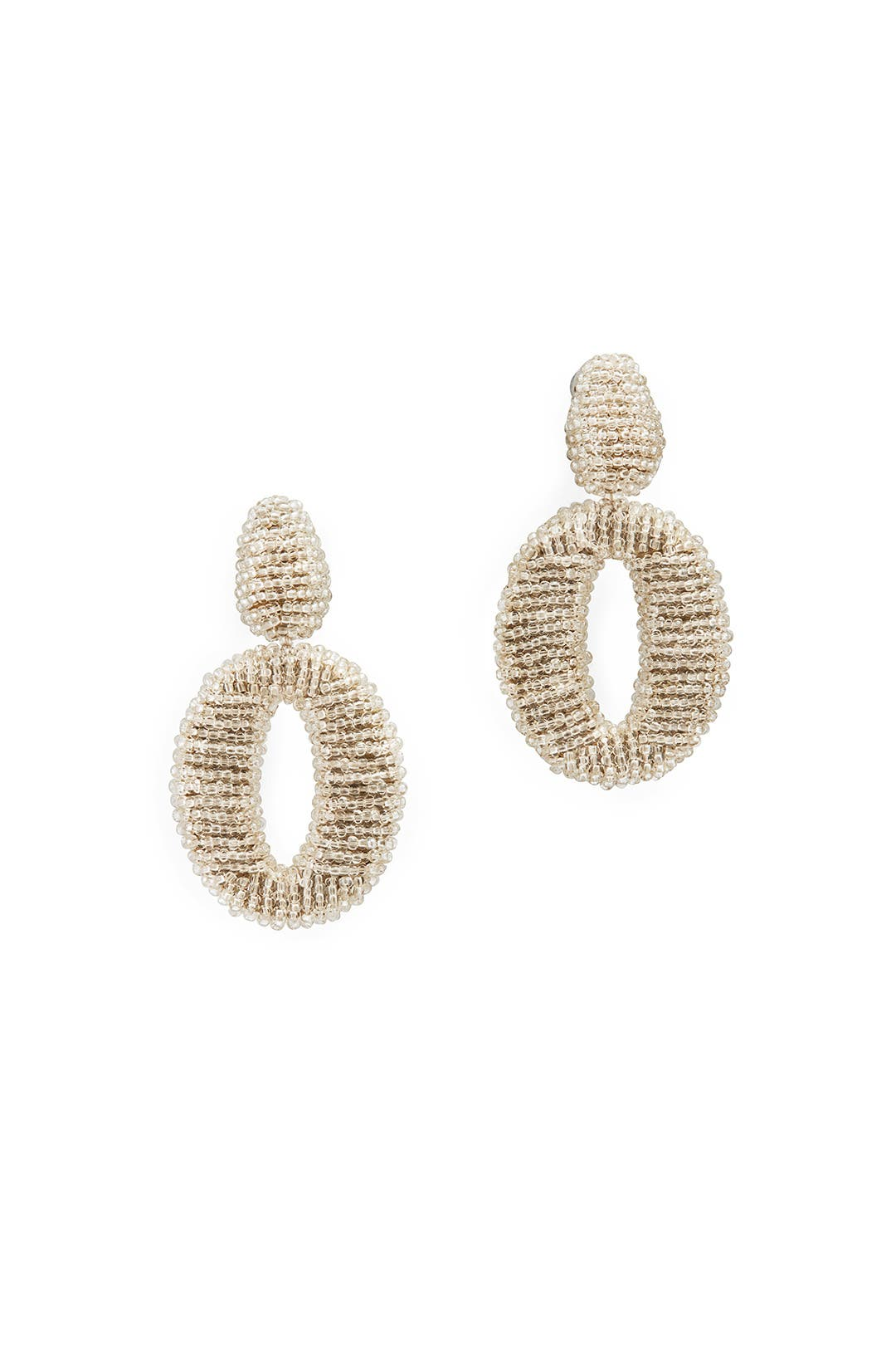 Cassini Drop Earrings by Oscar de la Renta