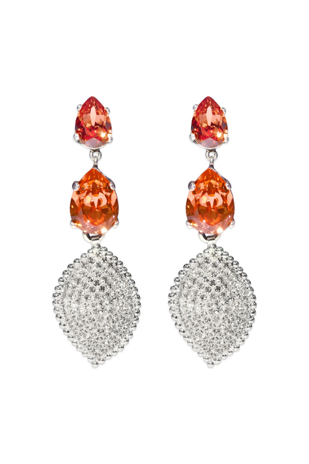 Rose Leaf Earrings by Janis Savitt