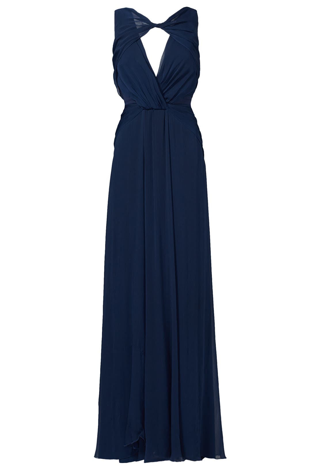Navy Petunia Gown by Badgley Mischka for $95 - $115 | Rent the Runway