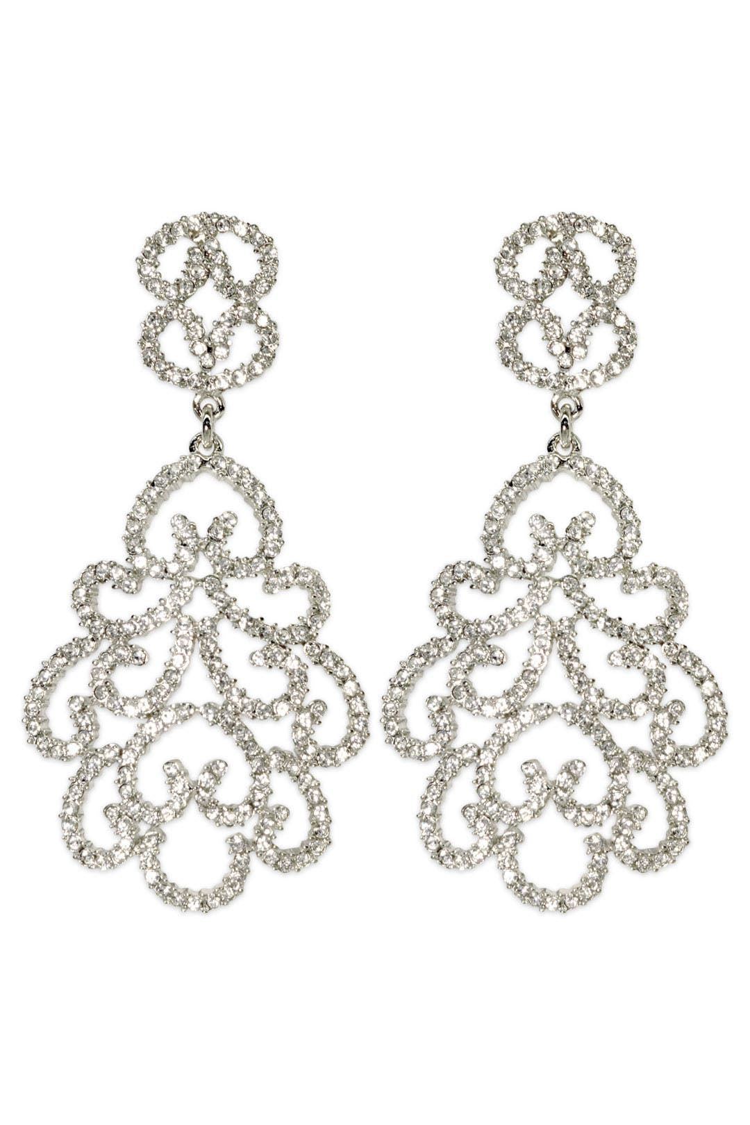 Red Carpet Earrings by Kenneth Jay Lane