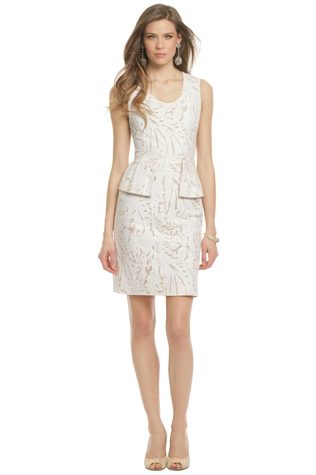 Mazari Palm Dress by BCBGMAXAZRIA