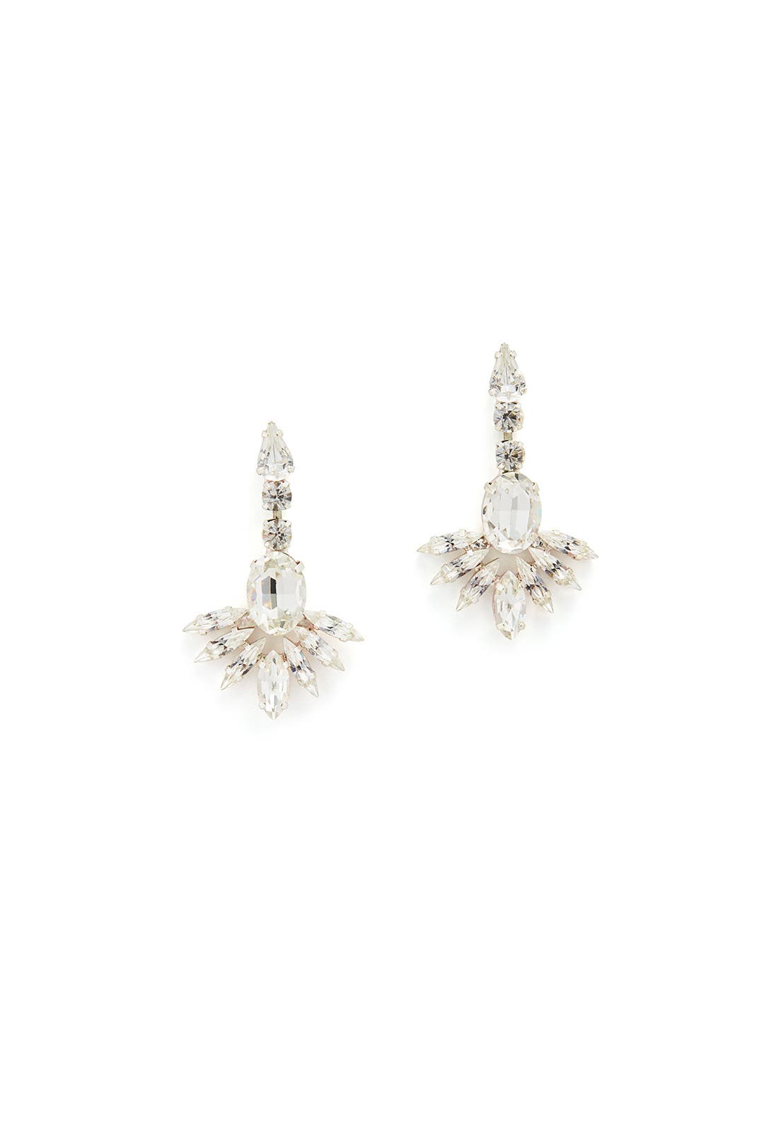 Crystal Fanfare Earrings by Tova