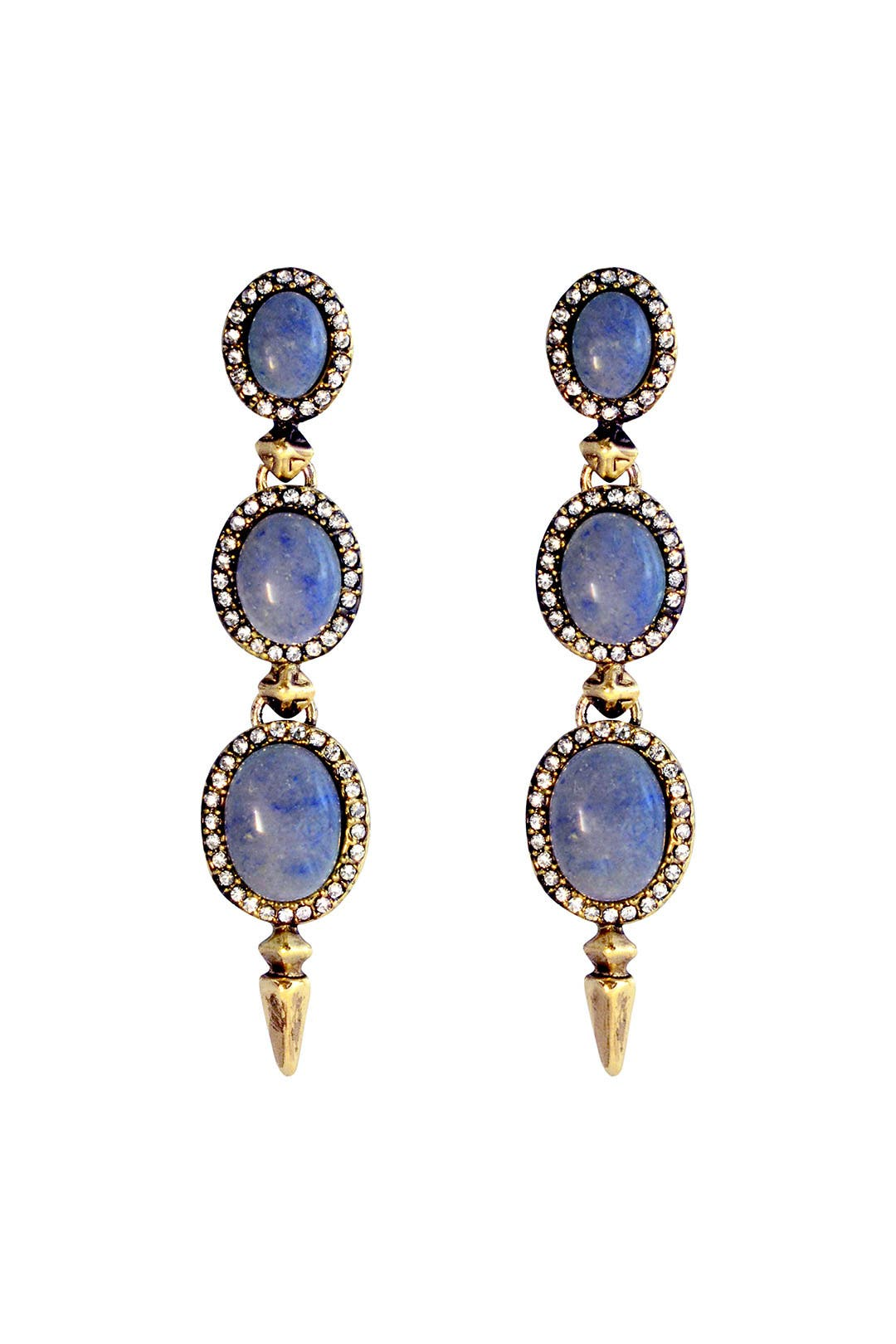 Fortune Teller Earrings by House of Harlow 1960