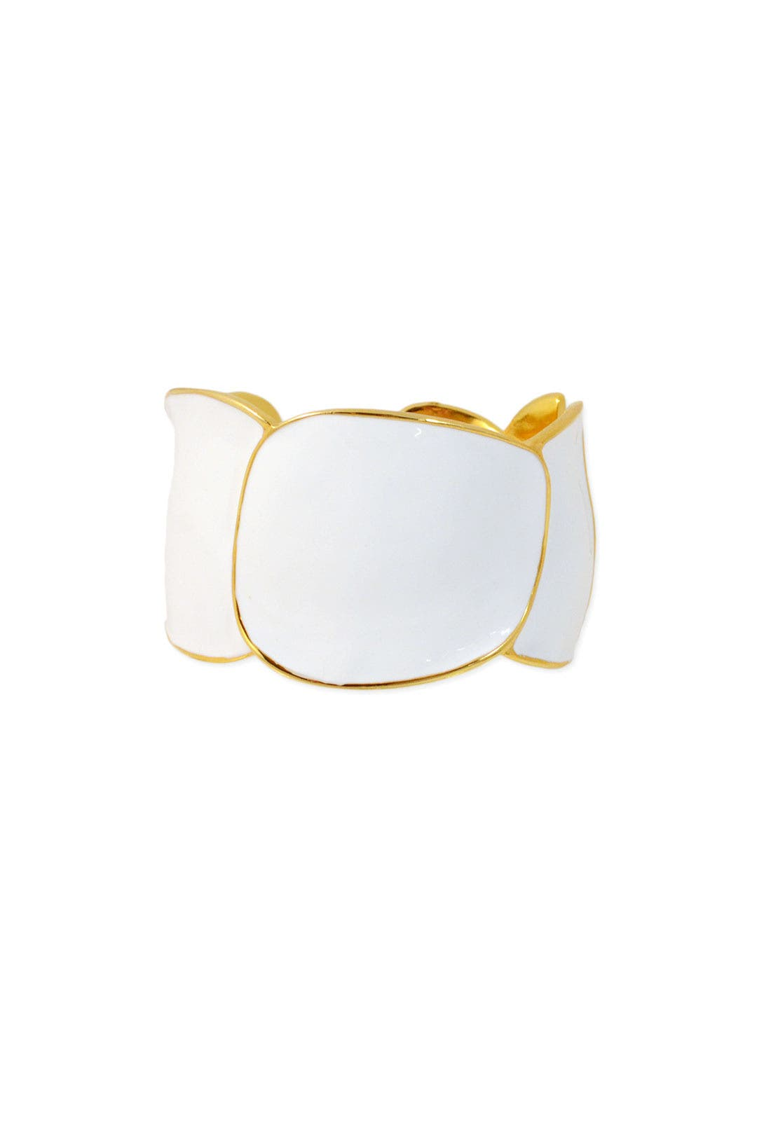 White Sand Cuff by Kenneth Jay Lane