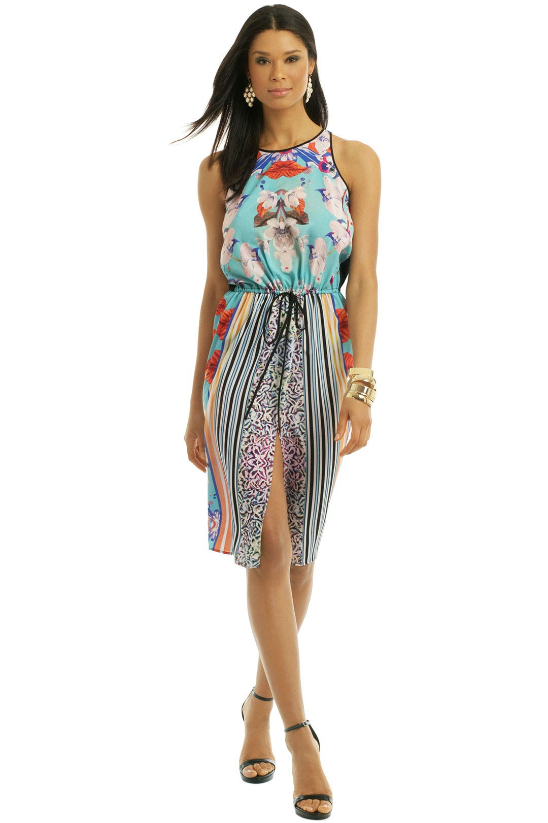 Prism Orchid Dress by Clover Canyon