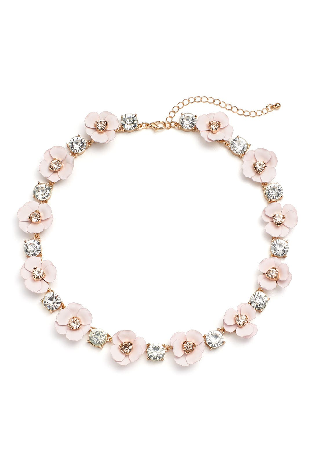 c9617c2dadff14  5.00 More Details · Slate   Willow Accessories Blush Flowers Necklace