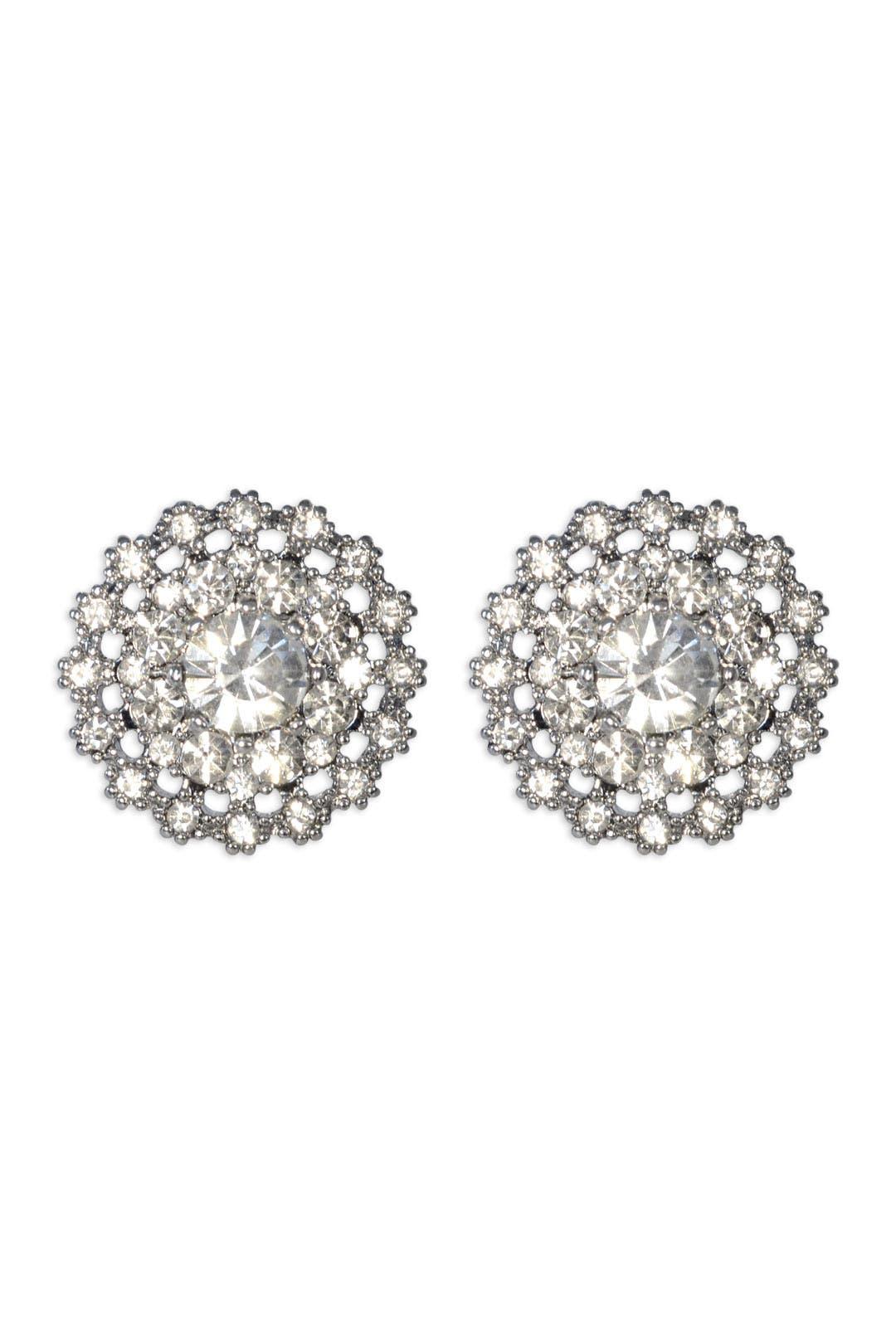 Silver Lilliana Earrings by Juliet & Company