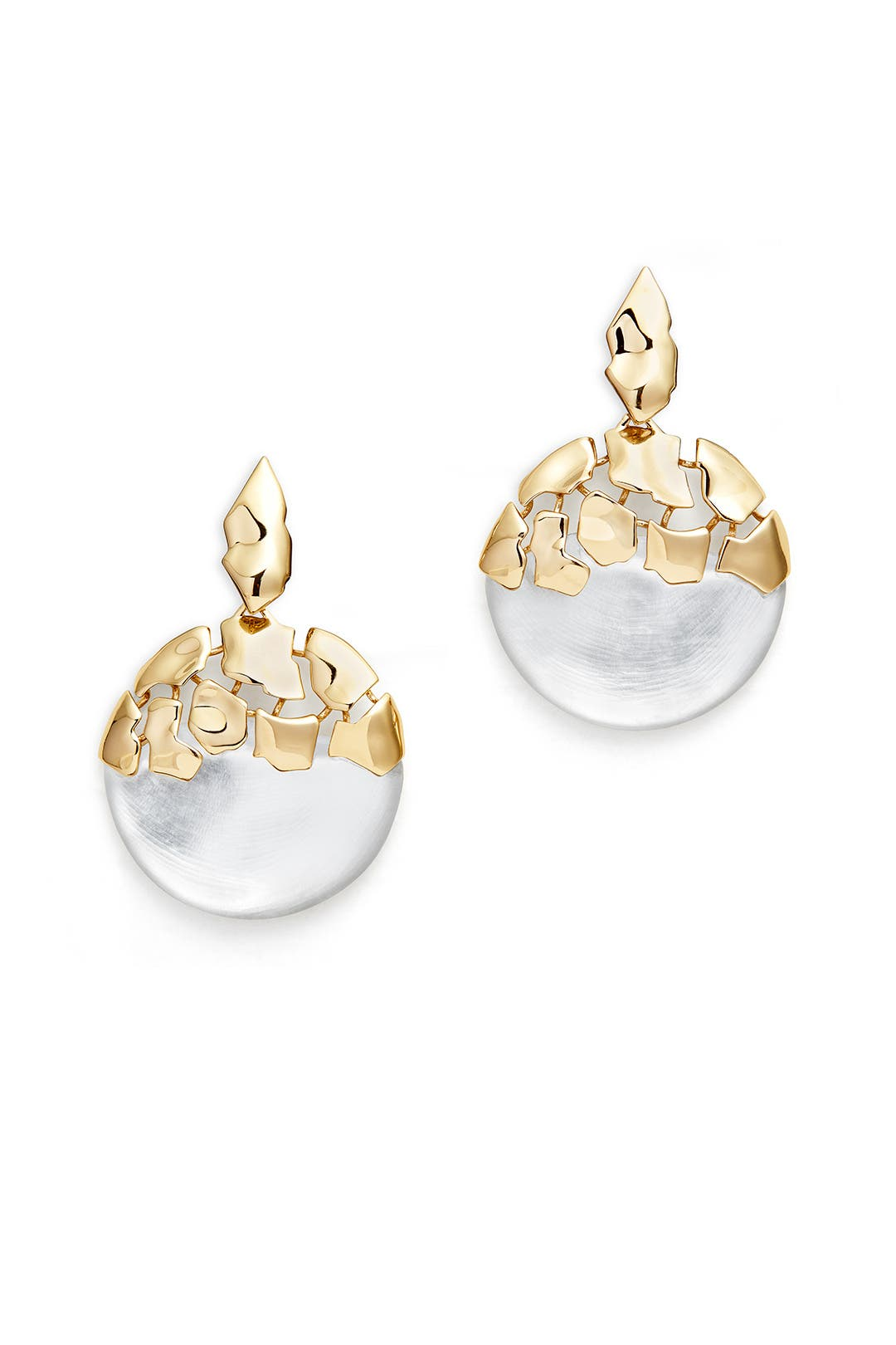 Molten Lucite Earrings by Alexis Bittar