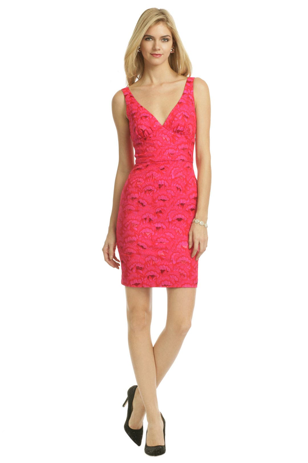 Pink Oahu Fan Dress by Trina Turk