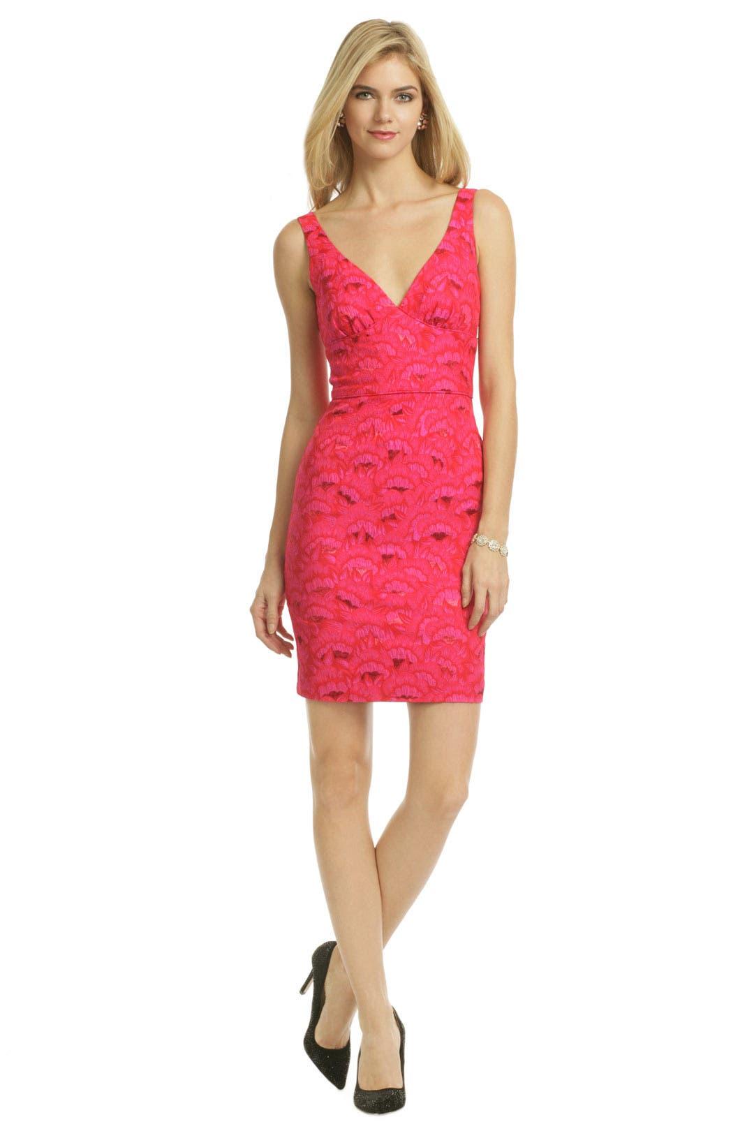 Pink Oahu Fan Dress by Trina Turk