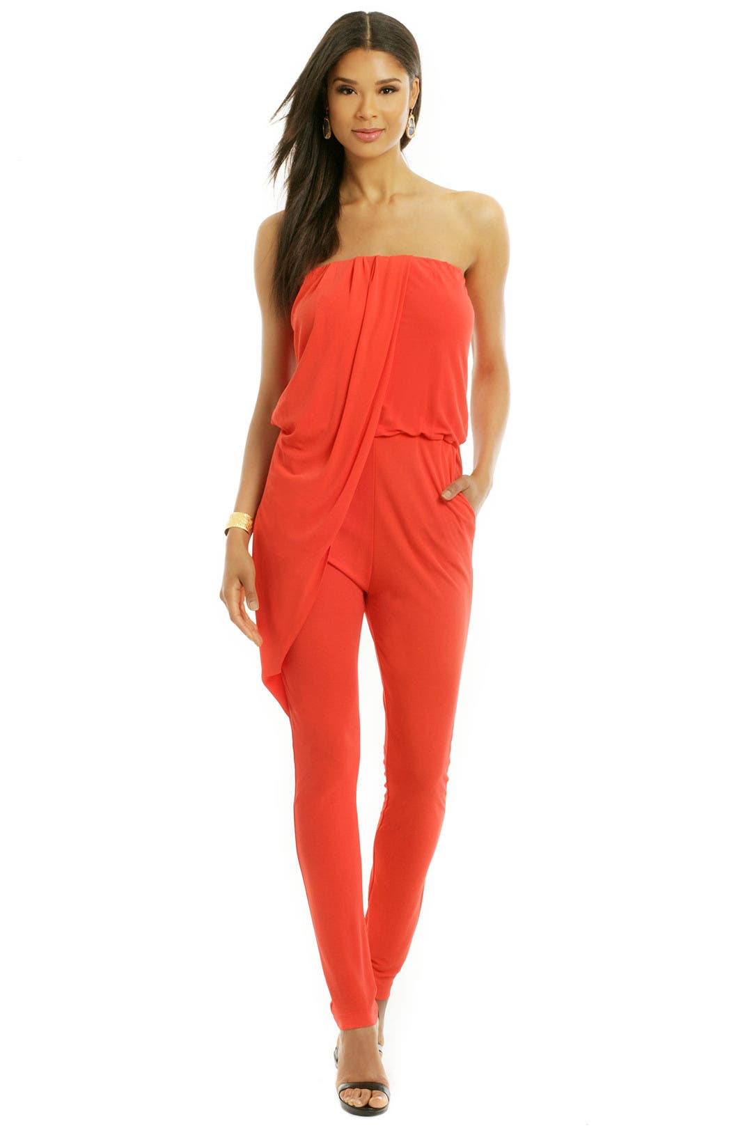 Jump In Line Jumpsuit by MSGM