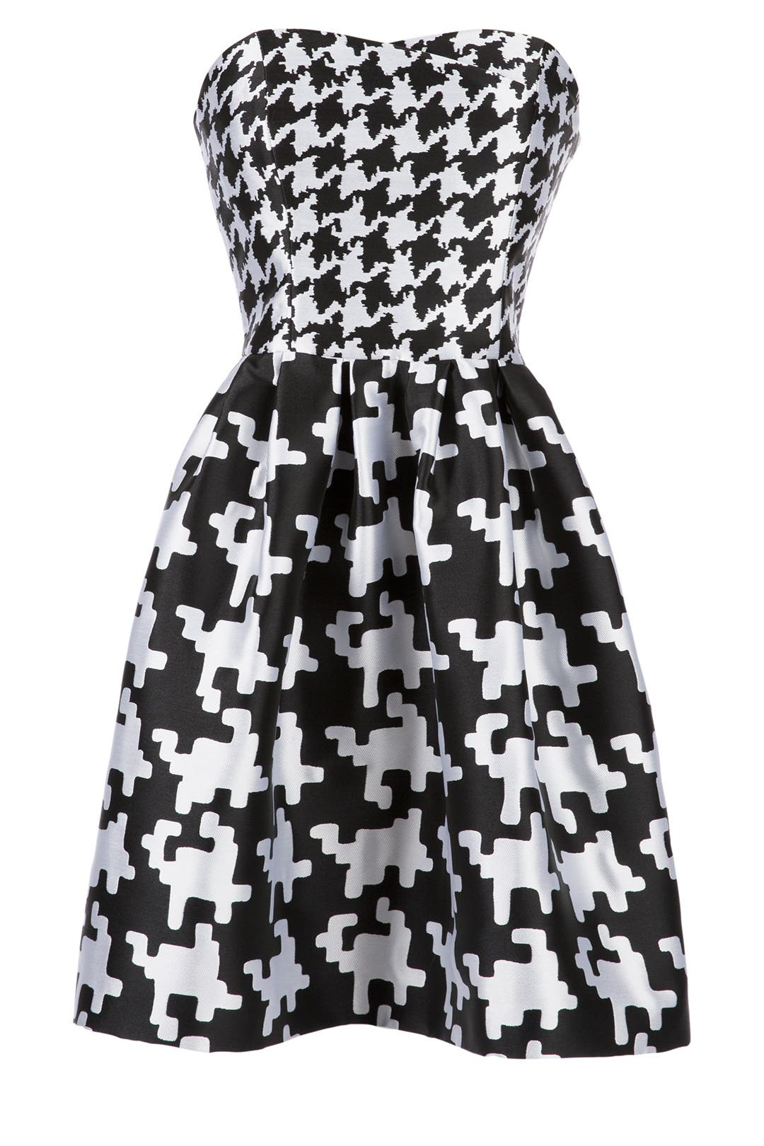 Houndstooth Dress by BOUTIQUE MOSCHINO for $164 | Rent the Runway