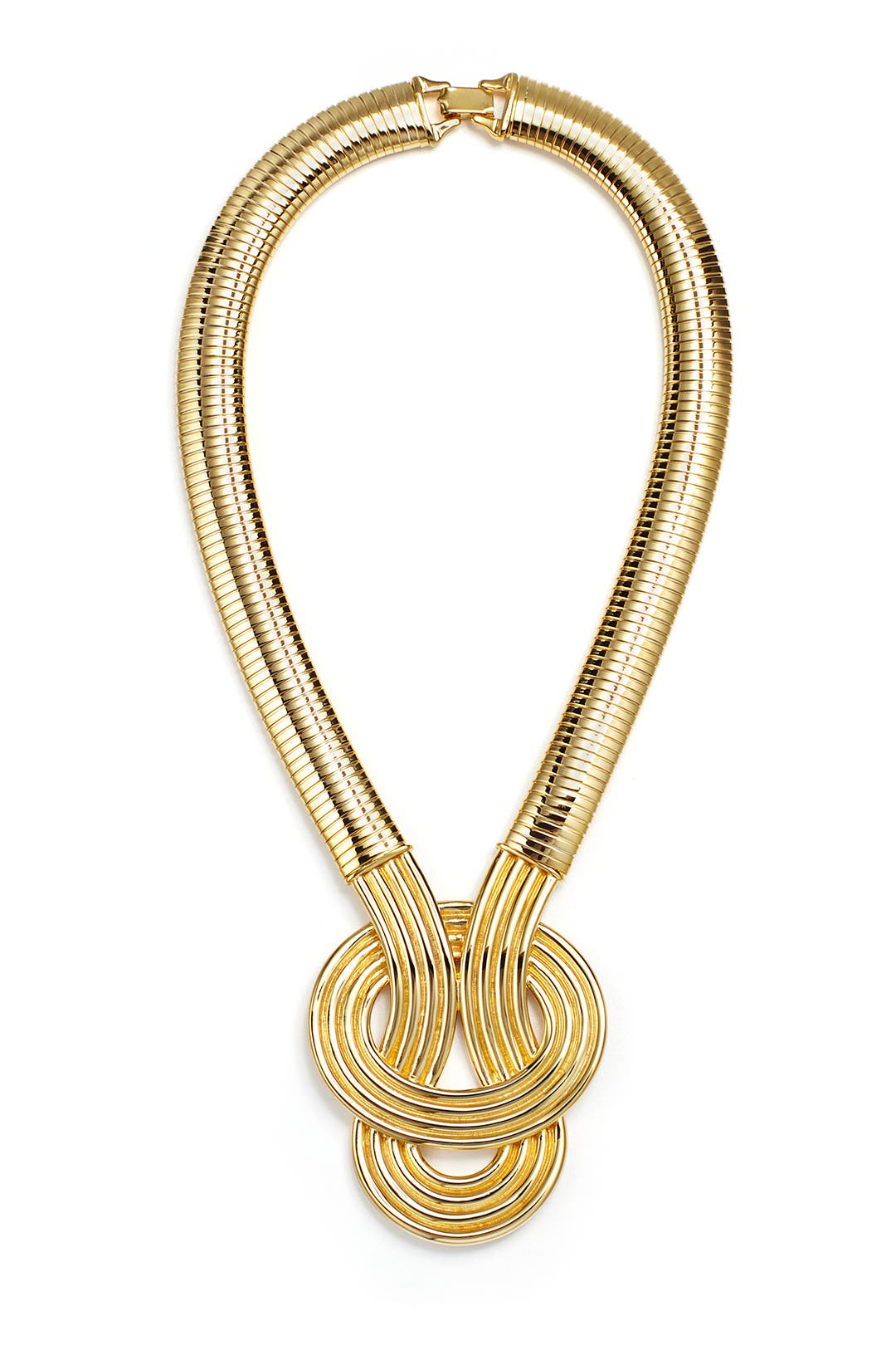 Delta Pendant Necklace by Kenneth Jay Lane