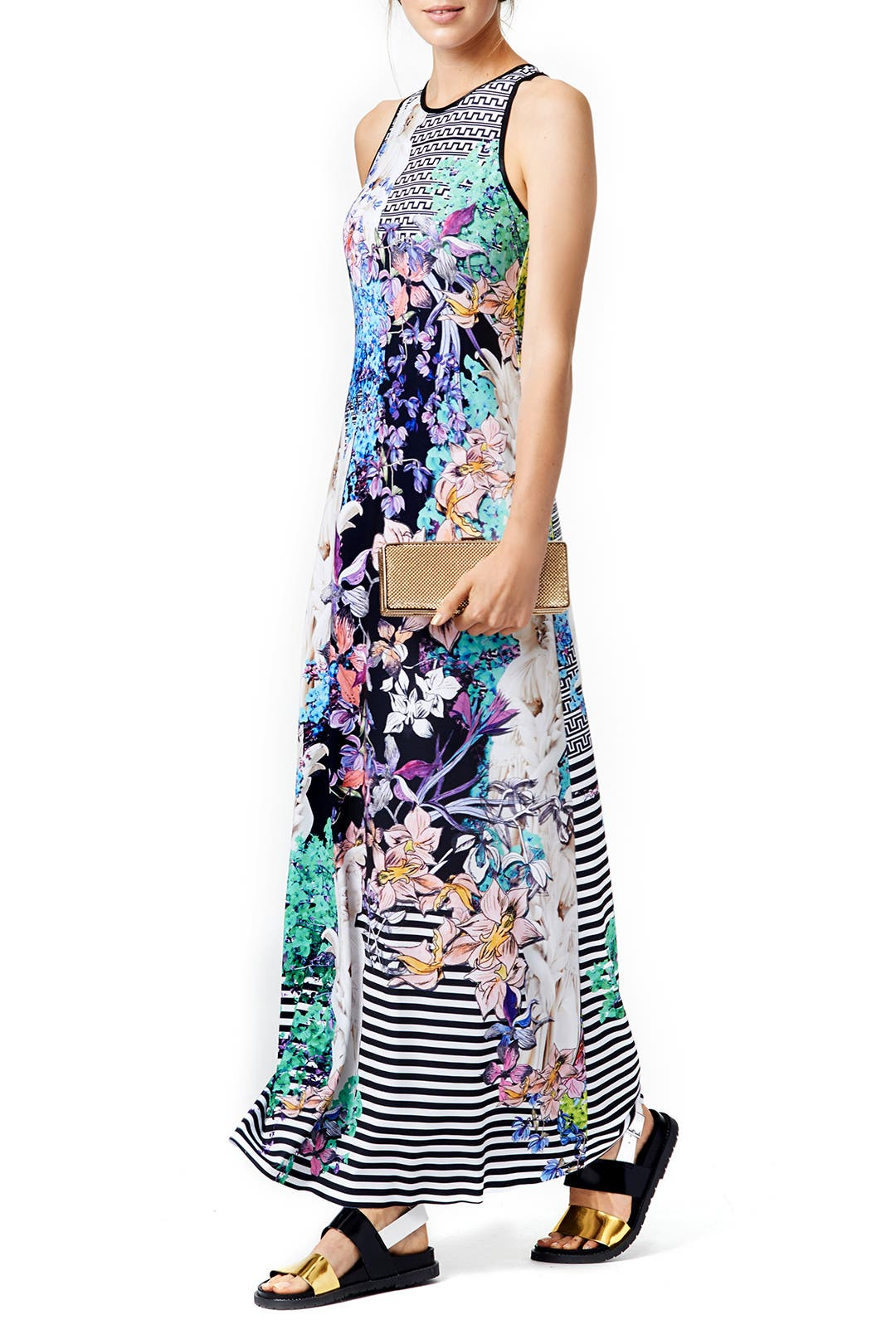 Enchanted Garden Maxi by Clover Canyon