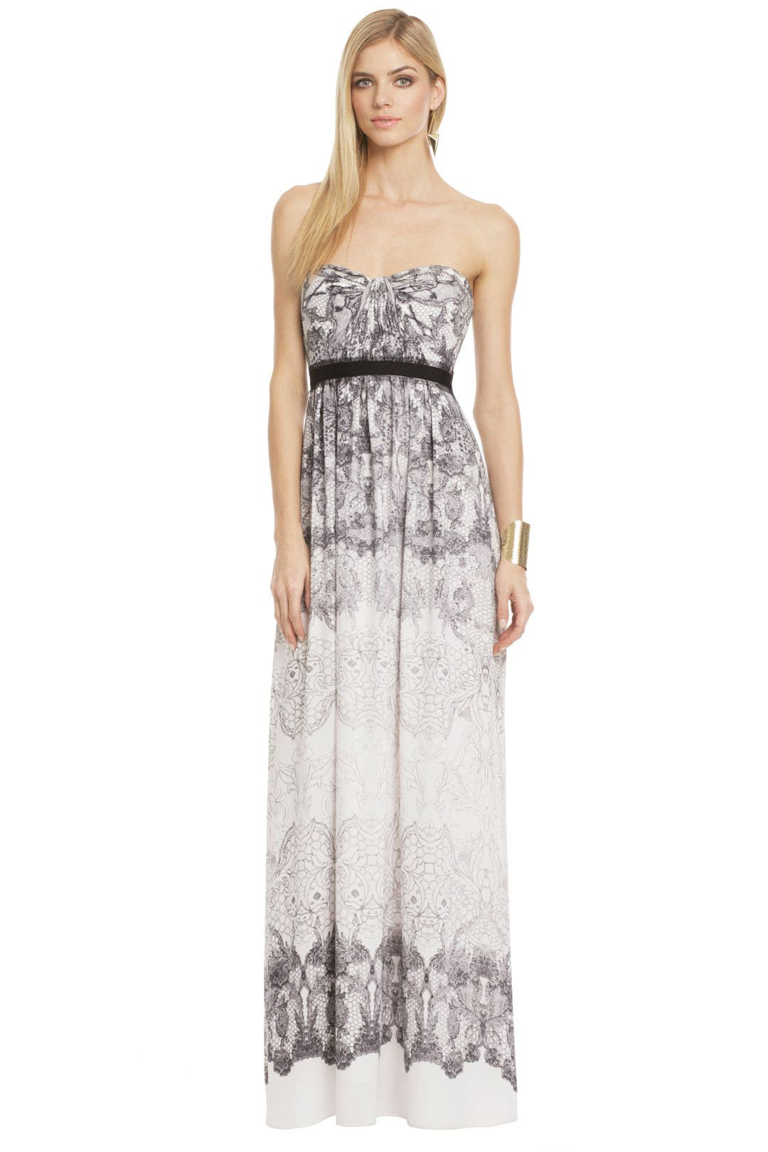 flora chiffon gown cocktail dresses for wedding BCBGMAXAZRIA